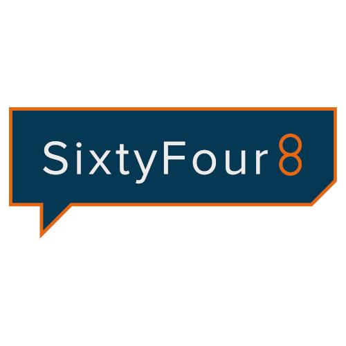 SixtyFour8 Logo