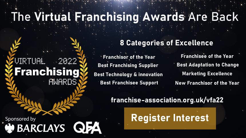 virtual franchising awards 2022